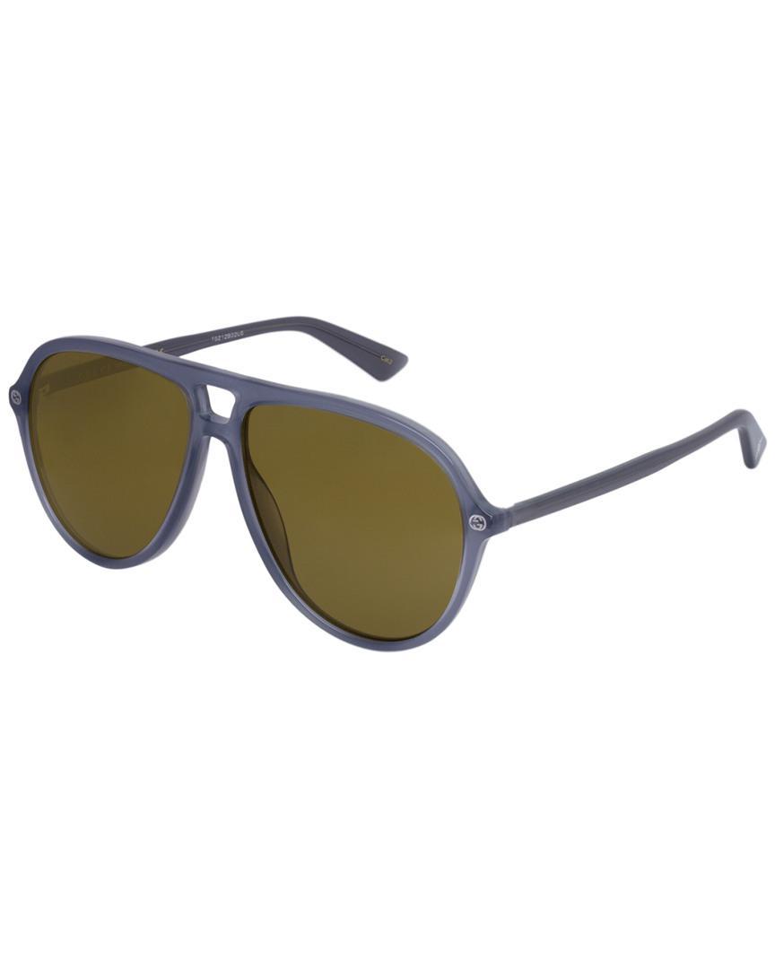 ab2f00e012 Lyst - Gucci Men s GG0119S 59mm Sunglasses for Men
