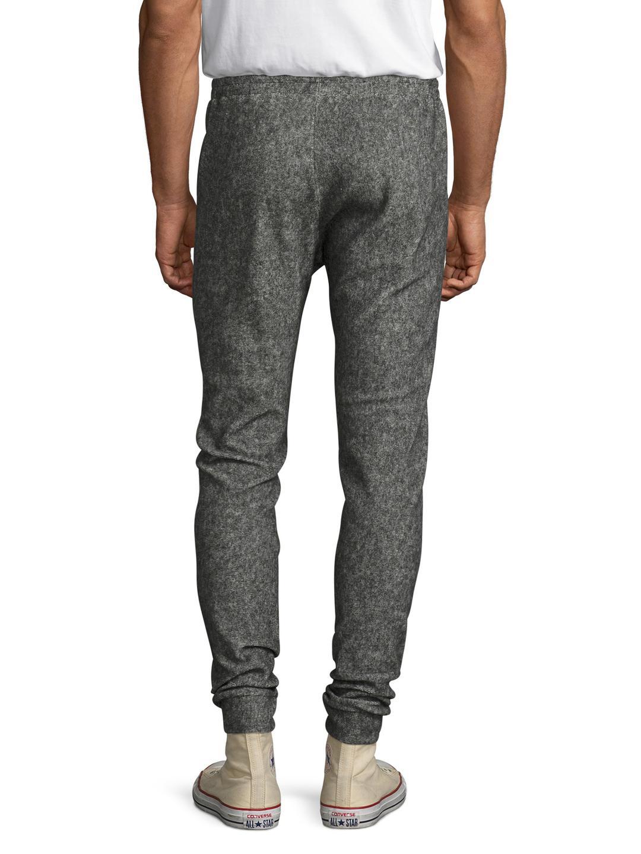 Twenty Maddux Plush Fleece Joggers in Heather Grey (Grey) for Men