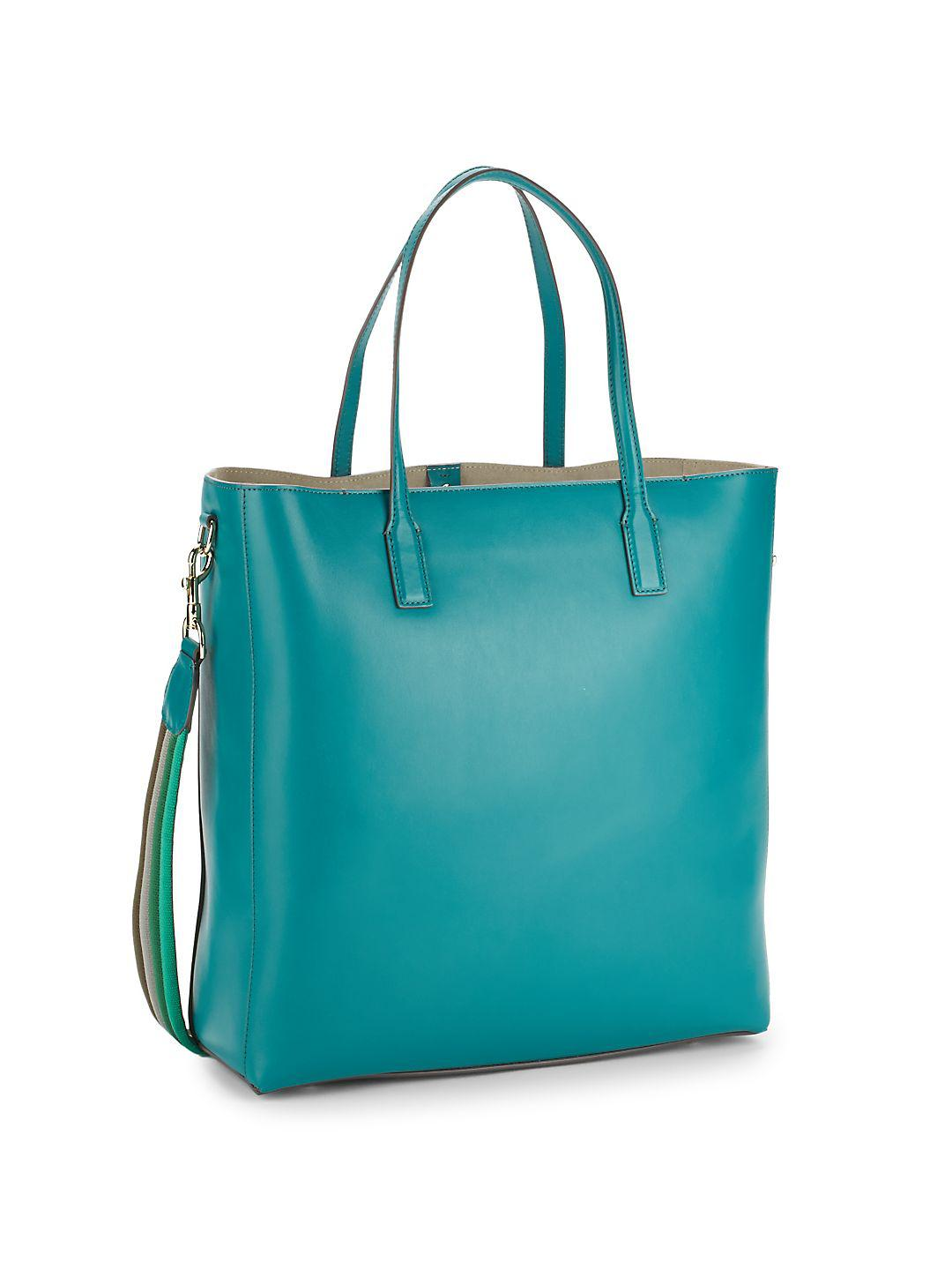 Anya Hindmarch Suede Ebury Smiley Tote in Green