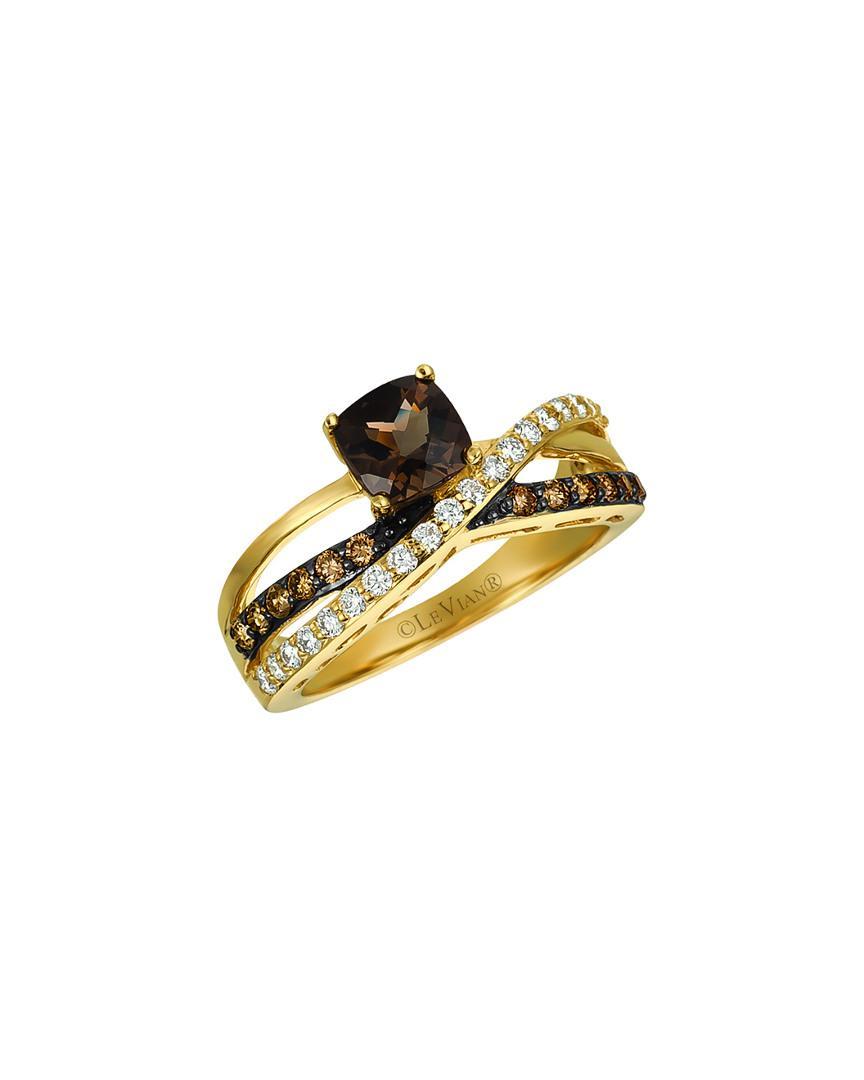 Prism Jewel 0.77 TCW Round Green Diamond With Diamond Engagement Ring