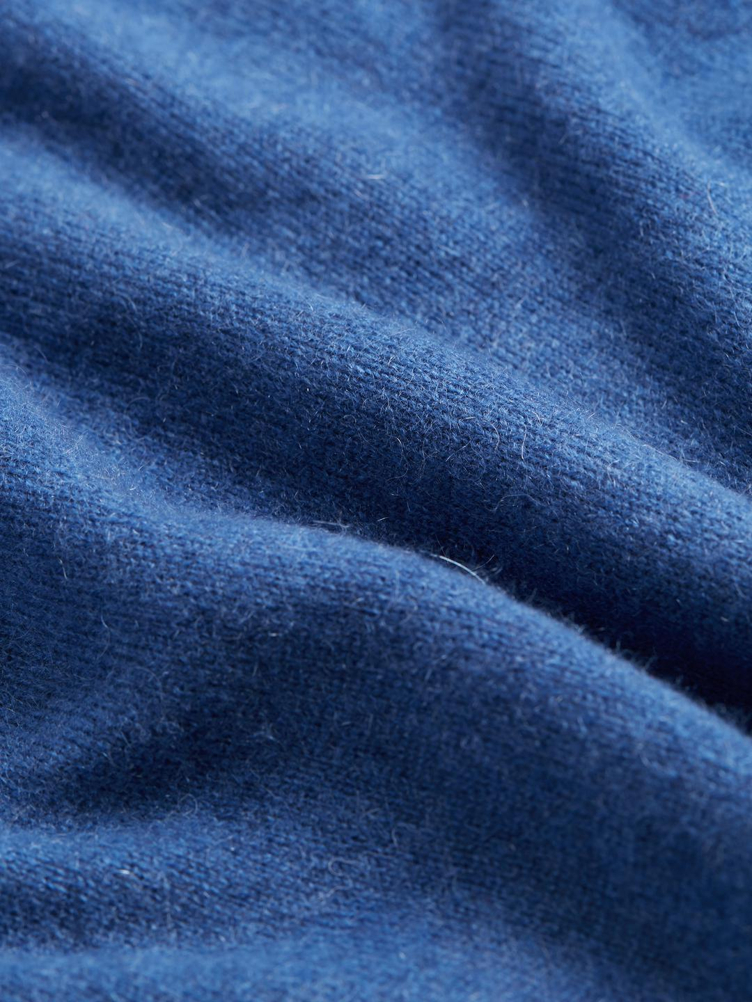 Brooks Brothers Solid Cashmere Sweater in Blue for Men