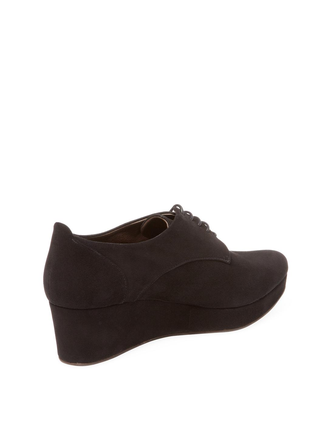 298f5a3aad5 Lyst - Coclico Pearl Wedge Oxford in Black