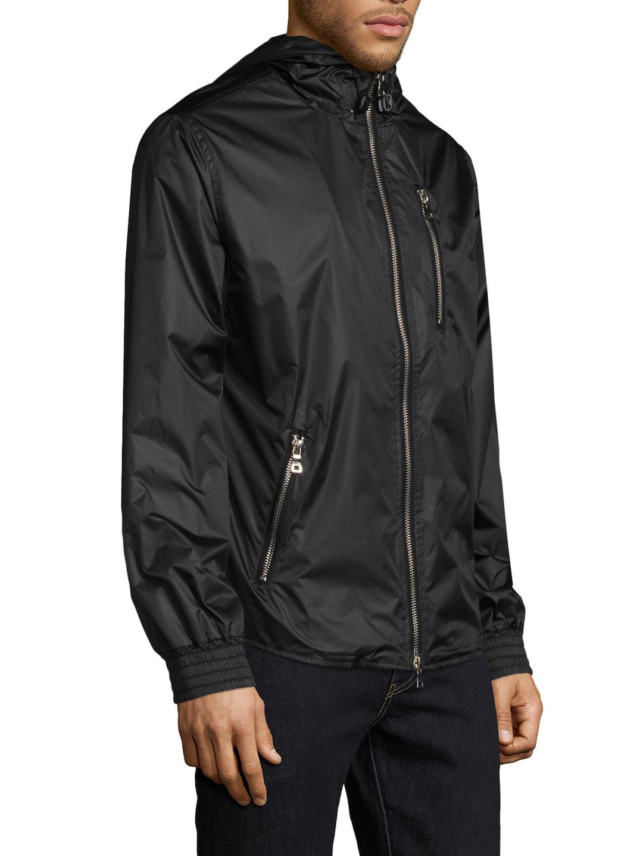Slate & Stone Synthetic Oliver Track Jacket in Black for Men