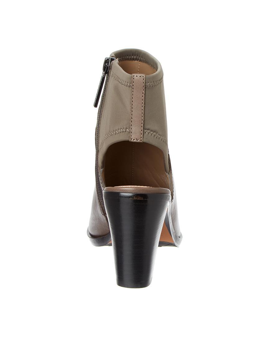 Donald J Pliner Kleo Leather Bootie in Grey (Grey)