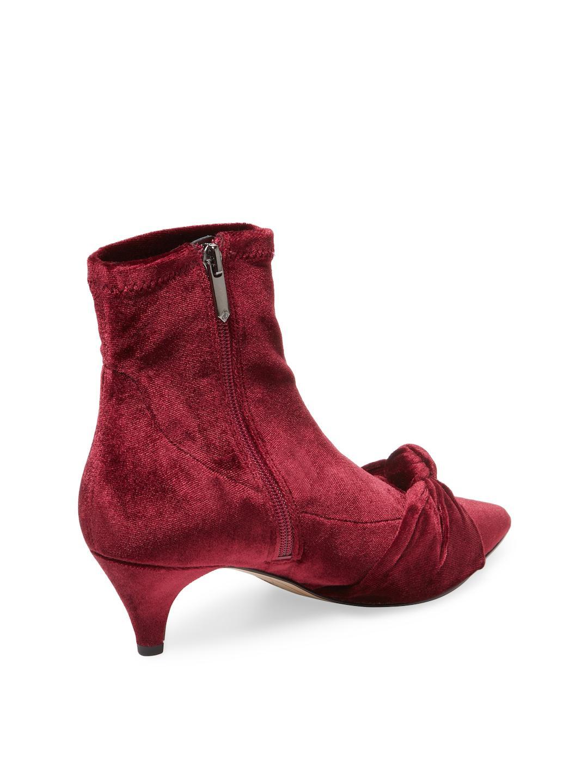 7361dd8e9 Lyst - Sam Edelman Keena Knot Bootie in Red