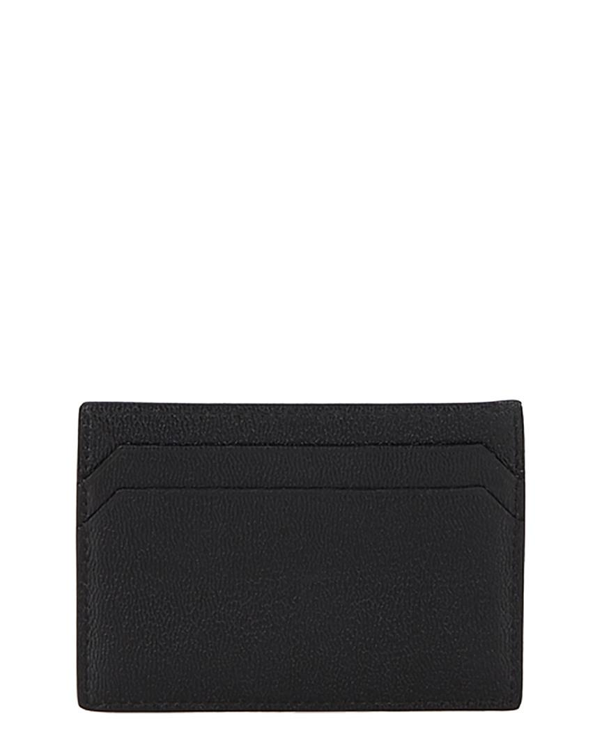 d0c3b7836acd Lyst - Gucci Black Leather Card Holder