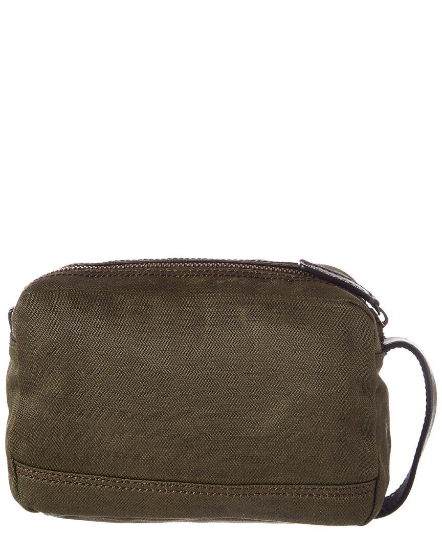 5d9536e3c7 Lyst - Frye Carter Slim Dopp Kit (for Men) in Green for Men - Save 14%