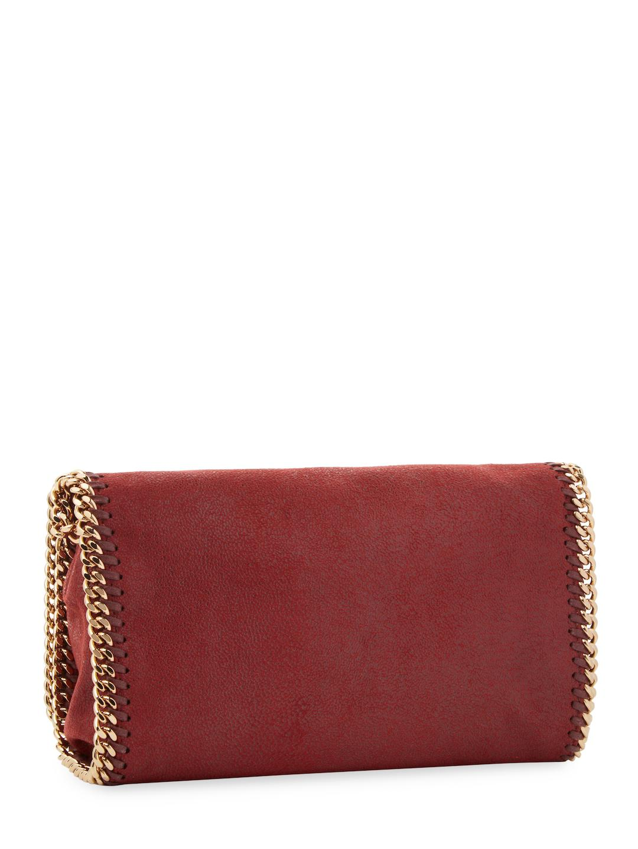 Stella McCartney Synthetic Falabella Crossbody Bag in Ruby (Red)