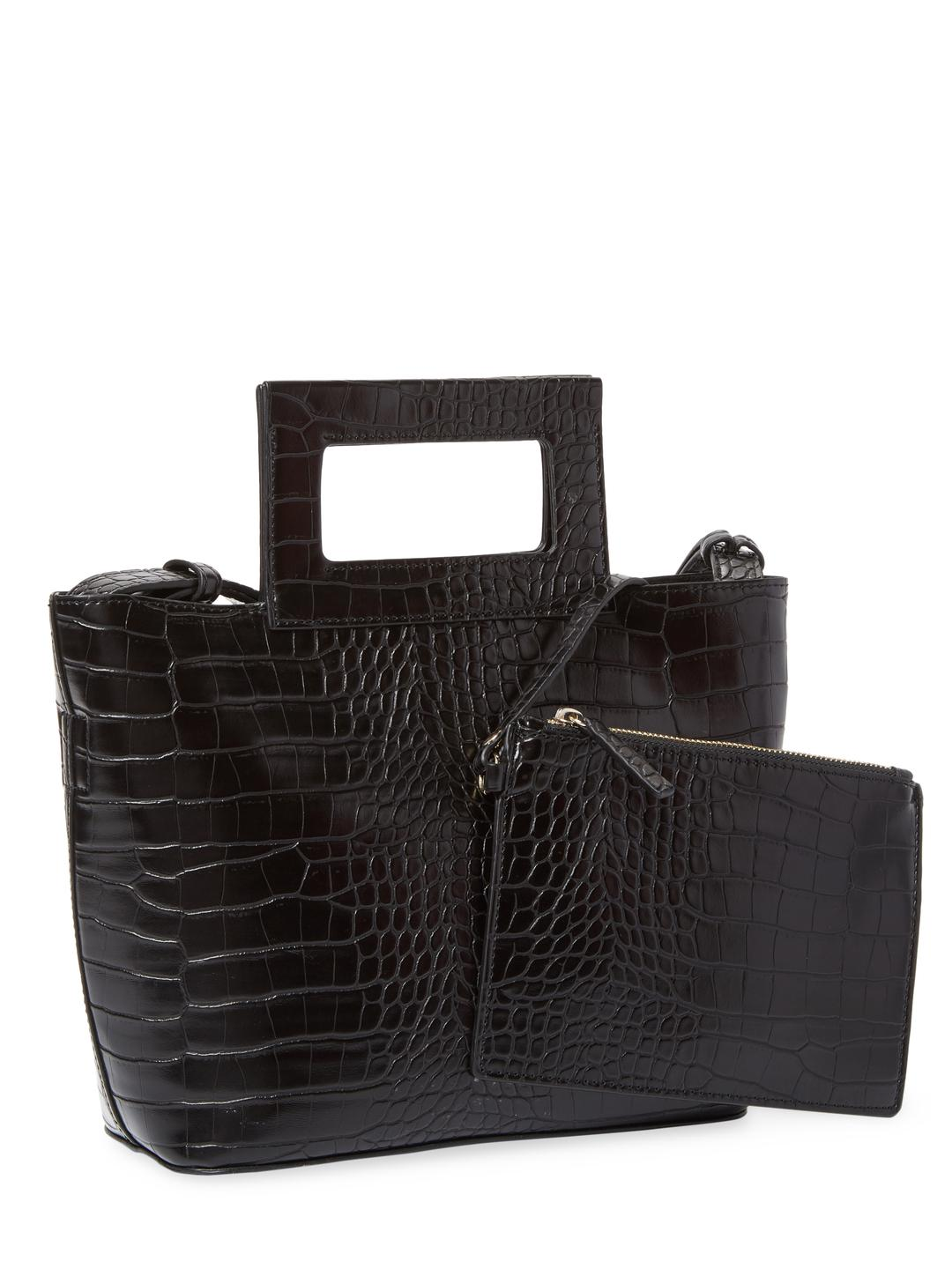 French Connection Corey Small Tote in Black