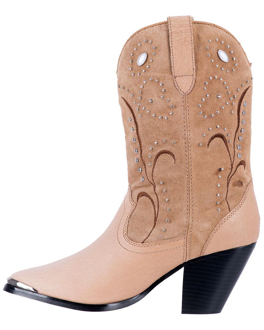 Dan Post Dingo Ava Western Leather Boot in Brown