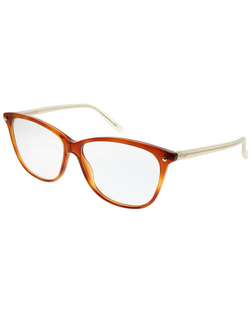 5c5feb92b4 Lyst - Dior Rectangular 53mm Optical Frames in Brown