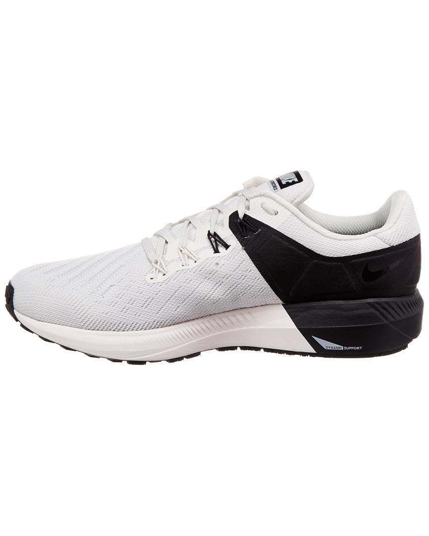 Nike Gray Air Zoom Structure 22 Shoe for men