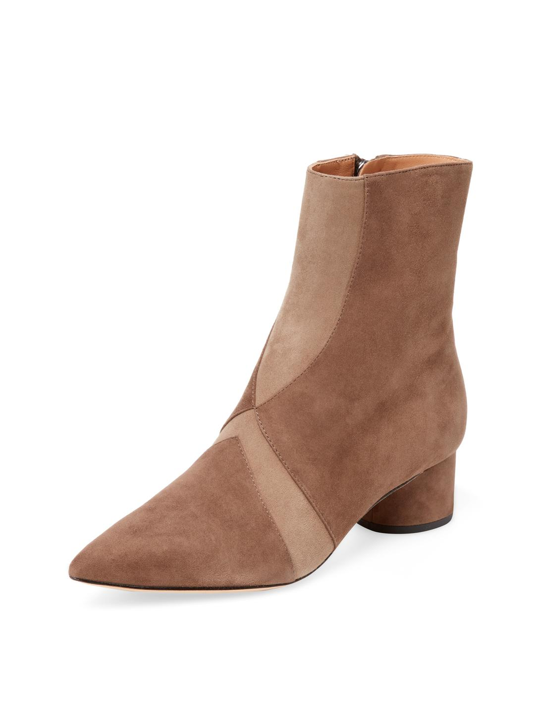 Sigerson Morrison Suede Pointed-Toe Booties free shipping order 2015 new DDJgAz