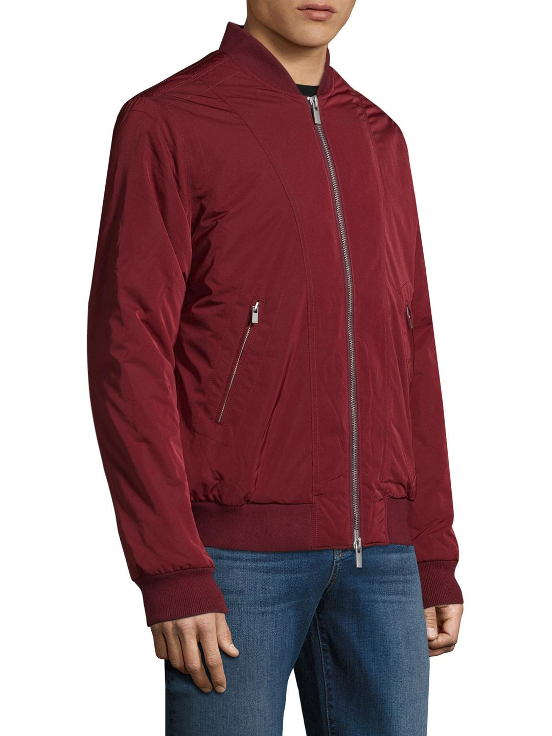 BLK DNM Synthetic 85 Solid Jacket in Burgundy (Red) for Men