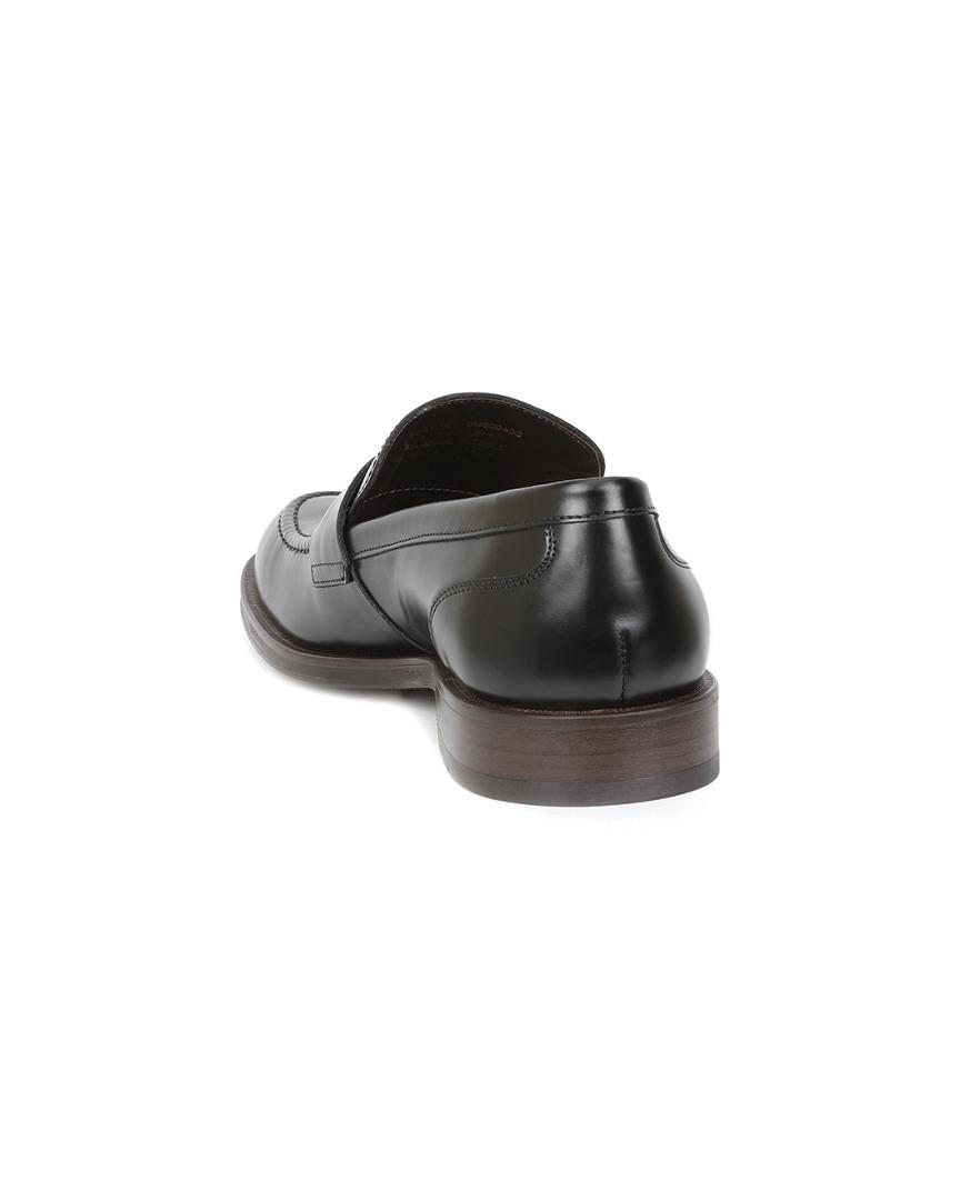 Bruno Magli M By Boston Leather Loafer in Black Leather (Black) for Men