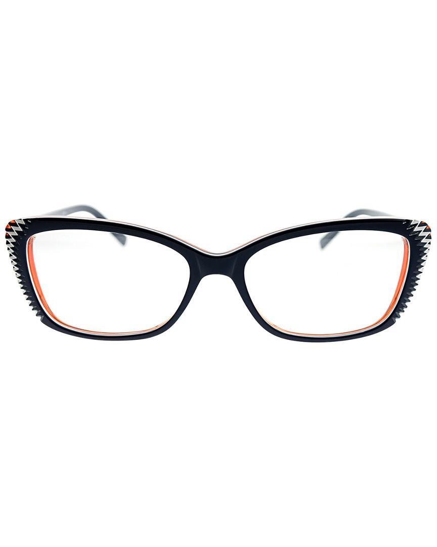 b617cf3a39 Lyst - Alexander Mcqueen Unisex Rectangular 53mm Optical Frames