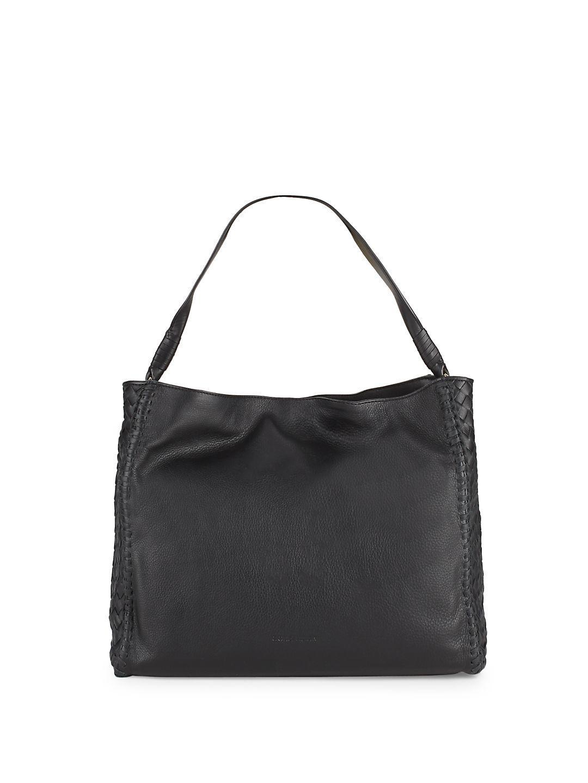 e9f636070250b Lyst - Cole Haan Dillan Leather Hobo Bag in Black