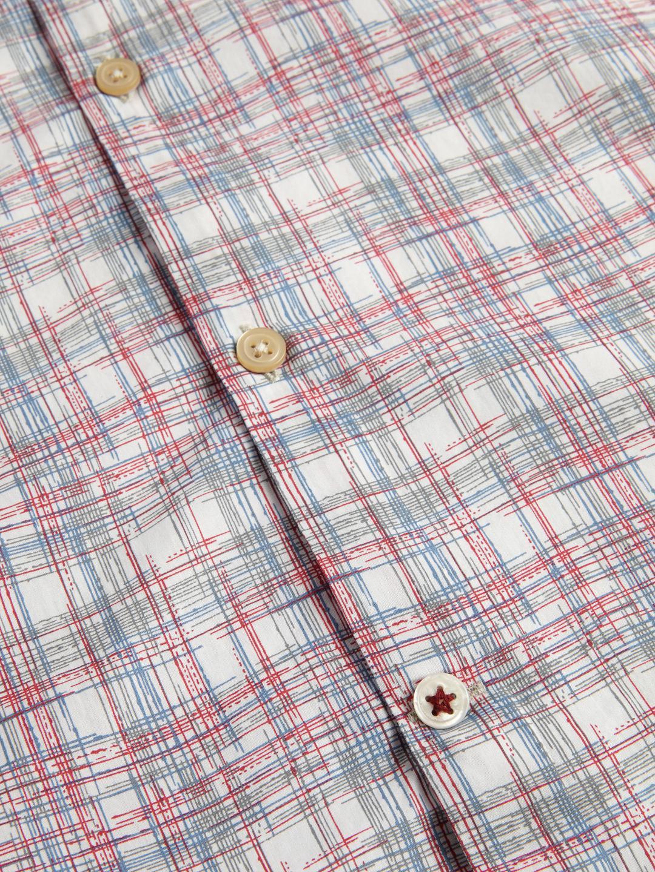 John Varvatos Cotton Mayfiled Printed Sportshirt for Men