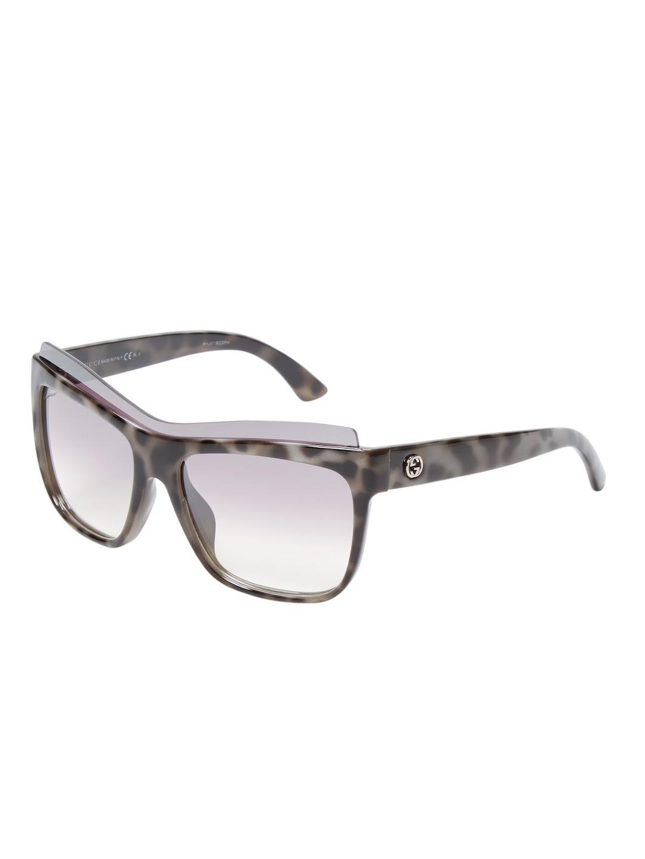 54f037a9d3a Lyst - Gucci Gradient Wayfarer Frame
