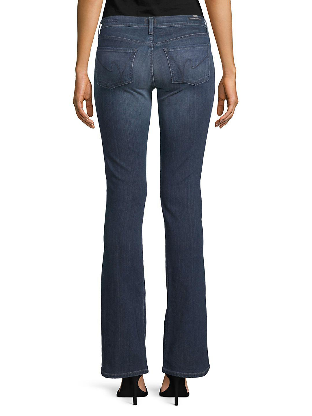 Citizens of Humanity Denim Emannuelle Boot-cut Jeans in Blue