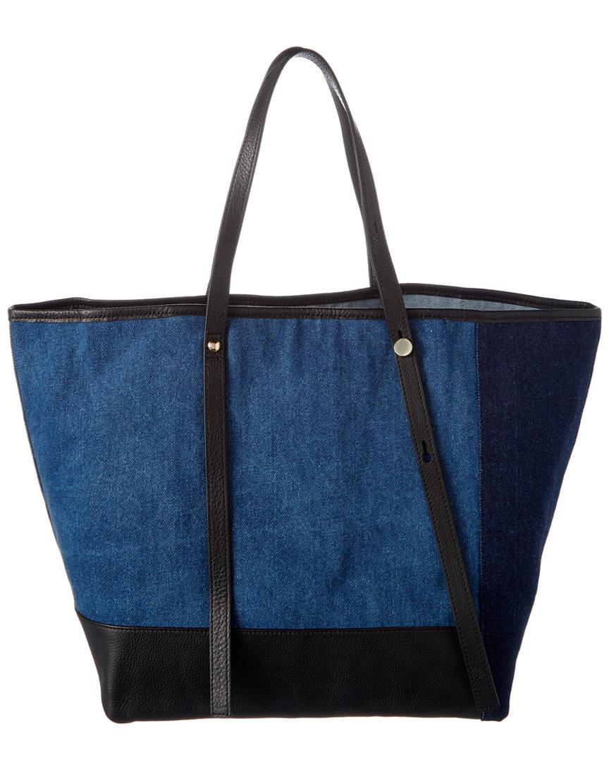 See By Chloé Andy Denim Tote in Blue