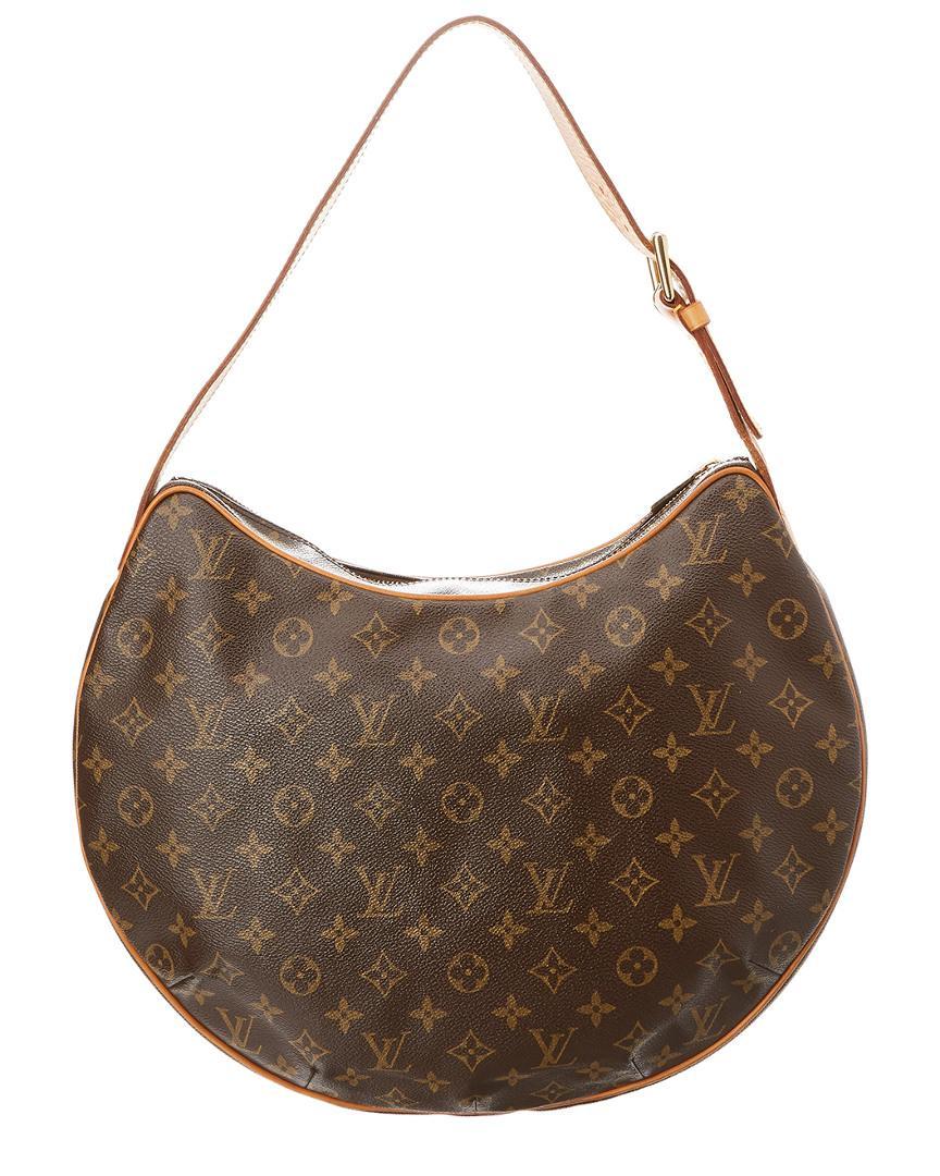 012cdb598eab Lyst - Louis Vuitton Monogram Canvas Croissant Gm in Brown
