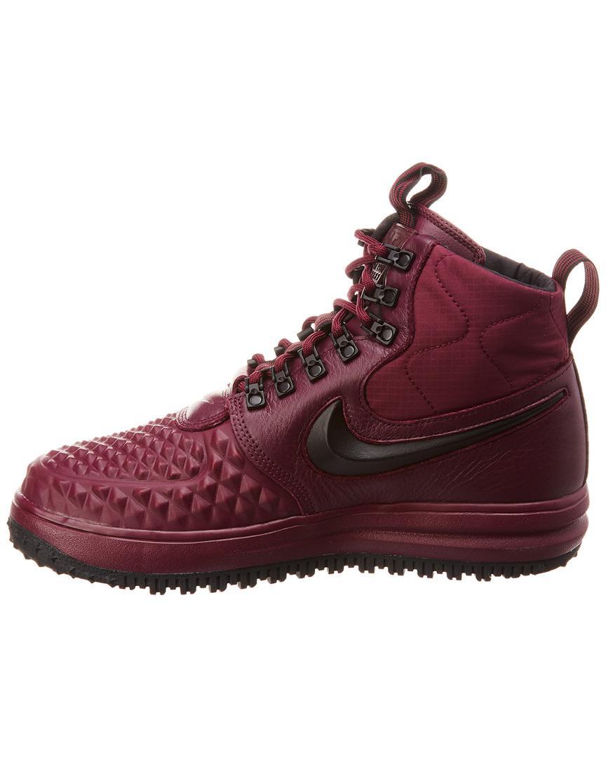 0a9797ffe0c Lyst - Nike Lunar Force 1  17 Watershield Leather Sneaker in Purple for Men  - Save 1%
