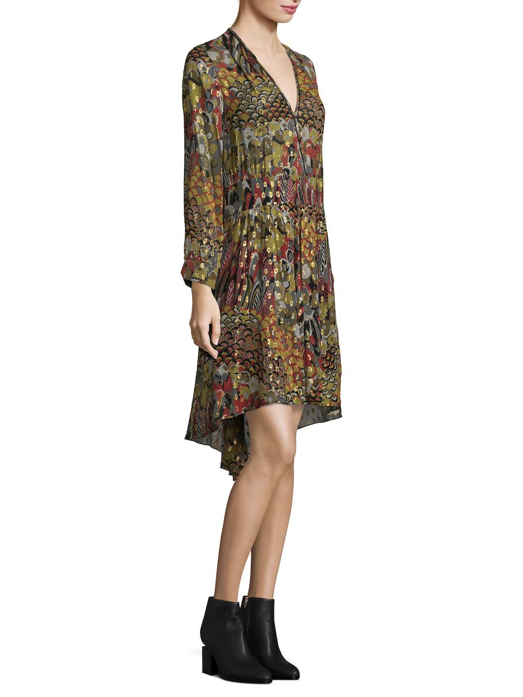 Zadig /& Voltaire Roumi Deluxe Shift Dress