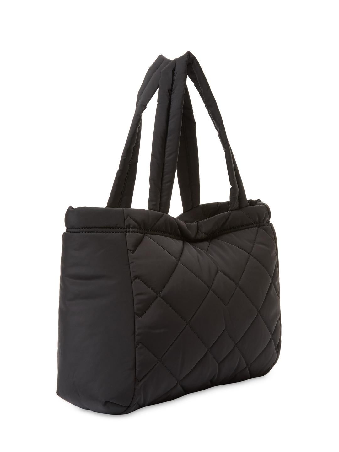 Marc Jacobs Synthetic Quilted Small Tote Bag in Black