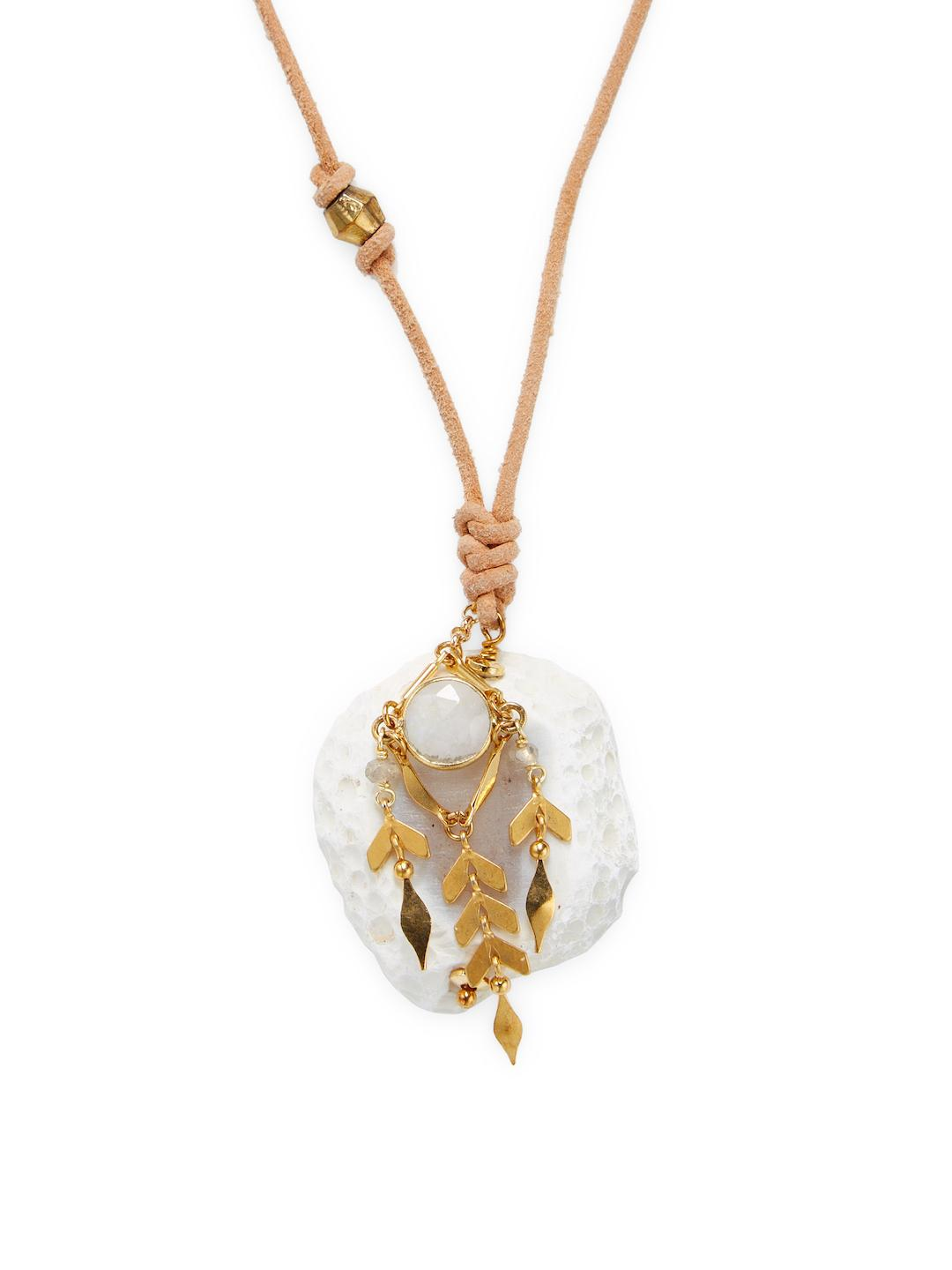 pendant semi products precious necklace usjewelryhouse stone long