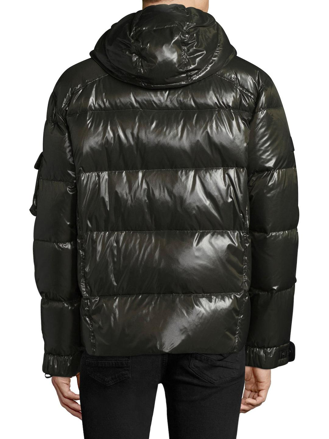 Sam. Synthetic Eclipse Puffer Jacket in Grey (Grey) for Men