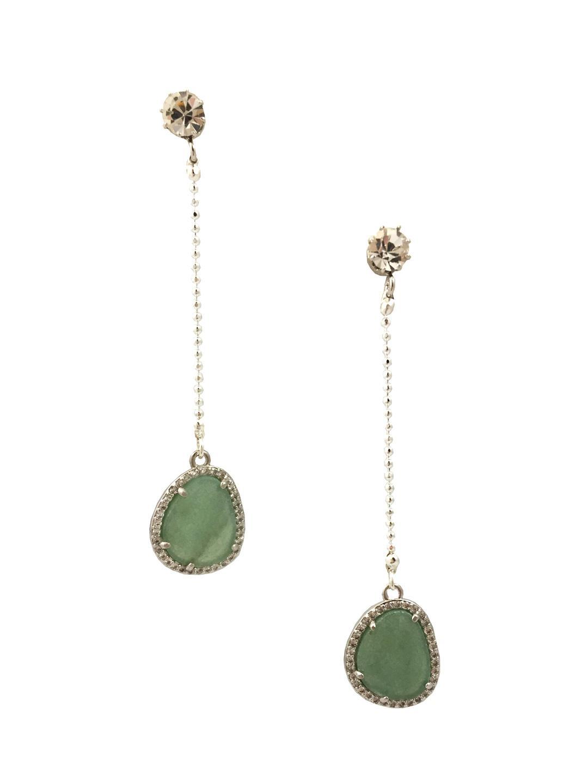 Katherine karambelas jewelry Melanie Aventurine & Swarovski ...