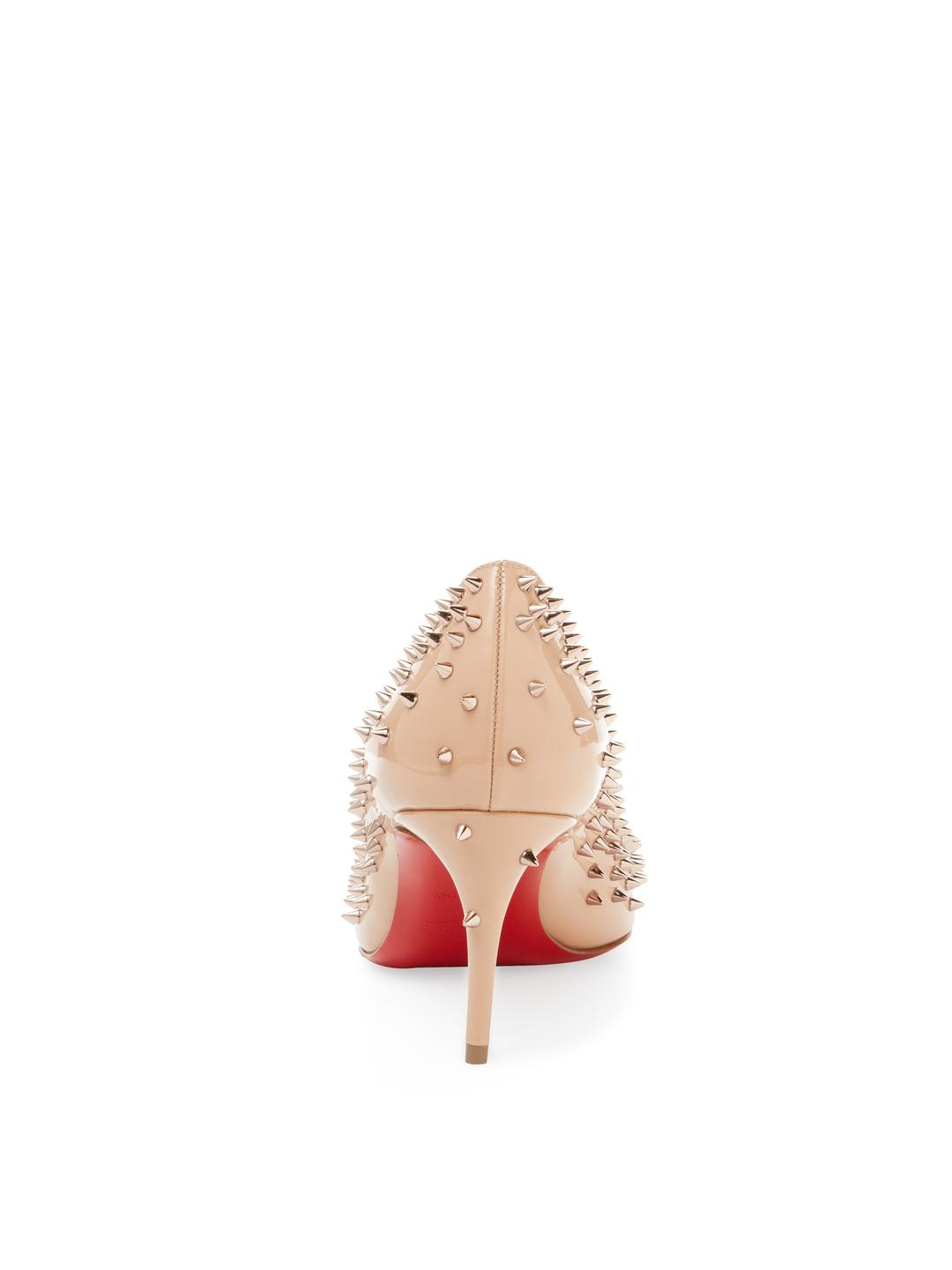 8fbc3aade28d Gallery. Previously sold at  Gilt · Women s Christian Louboutin Spike  Women s Red Pumps ...
