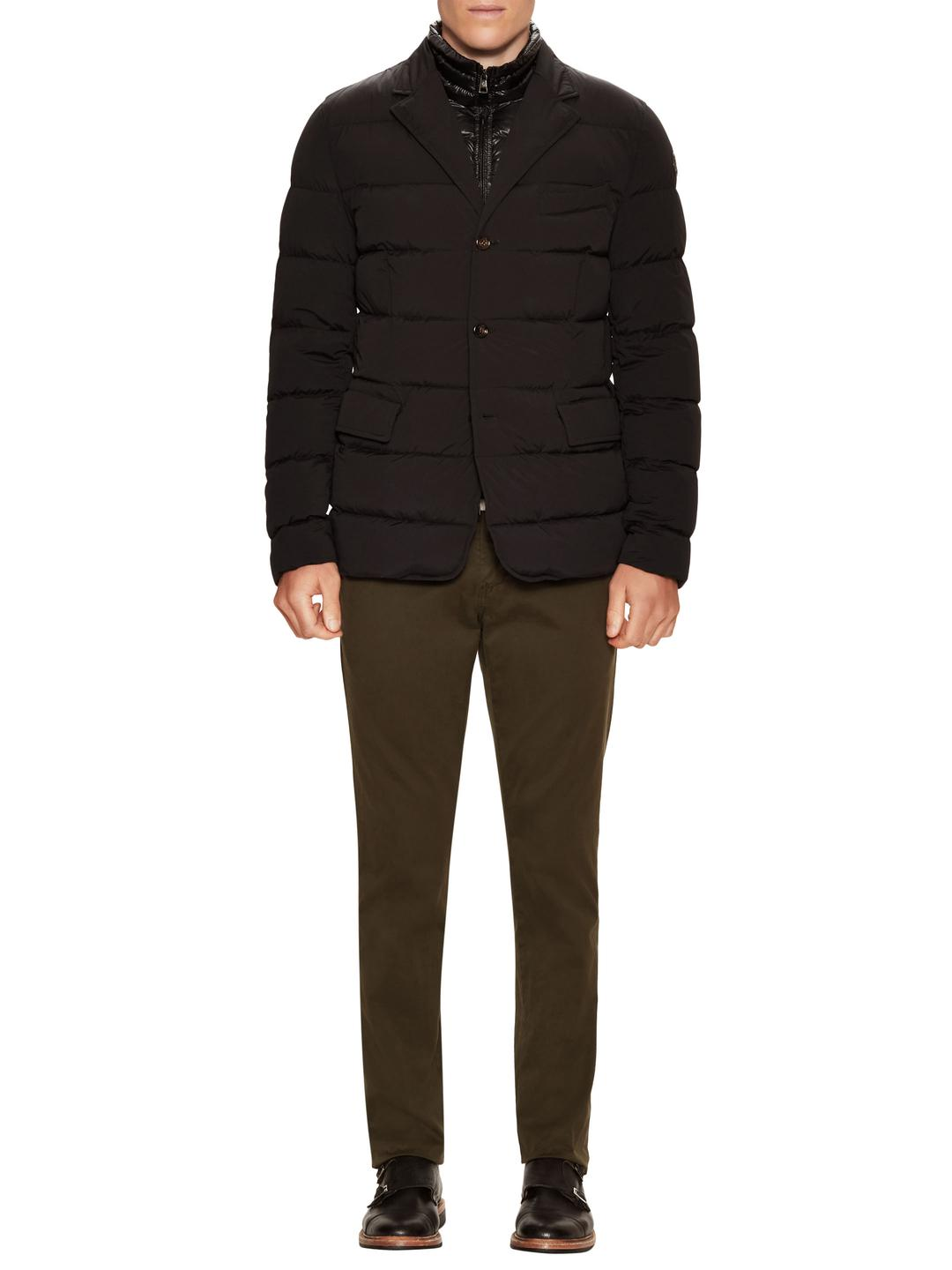 Moncler Synthetic Rouillac Blazer Jacket in Navy Blue (Blue) for Men