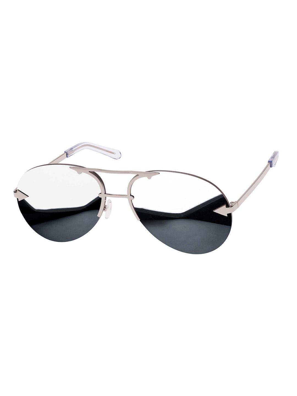 b8e4996b94a9 Karen Walker Love Hangover 1701579 Silver Sunglasses in Metallic - Lyst