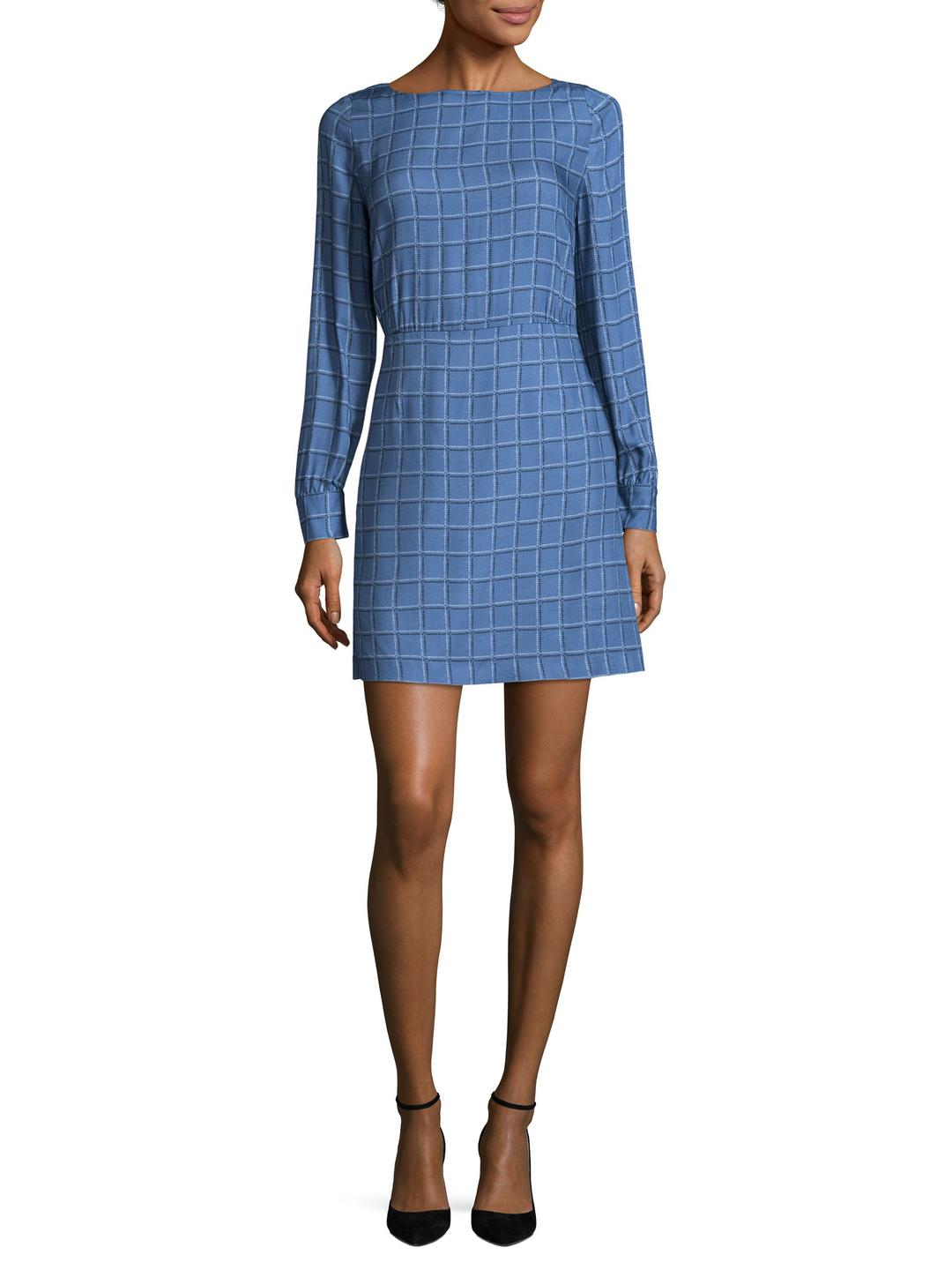 Cheap Affordable Love Moschino Woman Off-the-shoulder Ruffled Striped Cotton Dress Light Blue Size 42 Love Moschino Excellent Online qZ8blq