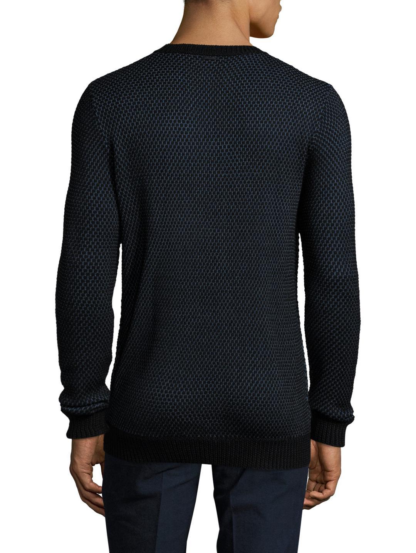 Antony Morato Wool Crewneck Sweater for Men