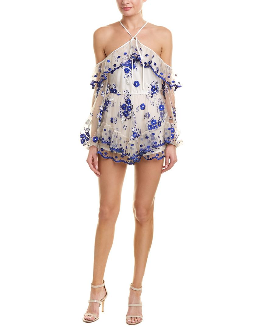 38eca3c8a0 Lyst - Alice McCALL A Girl Like You Playsuit in Blue - Save 14%