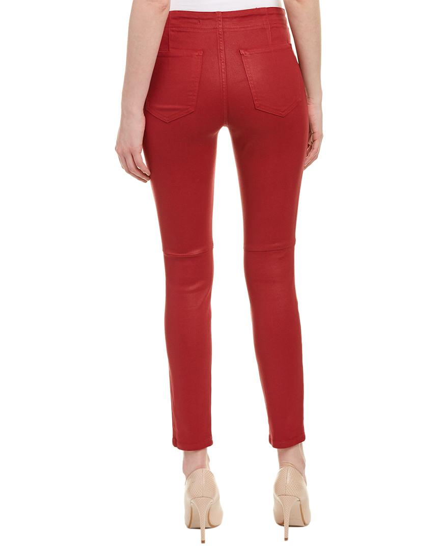 Joe's Jeans Cotton Taylor Hill By Red Skinny Ankle Cut