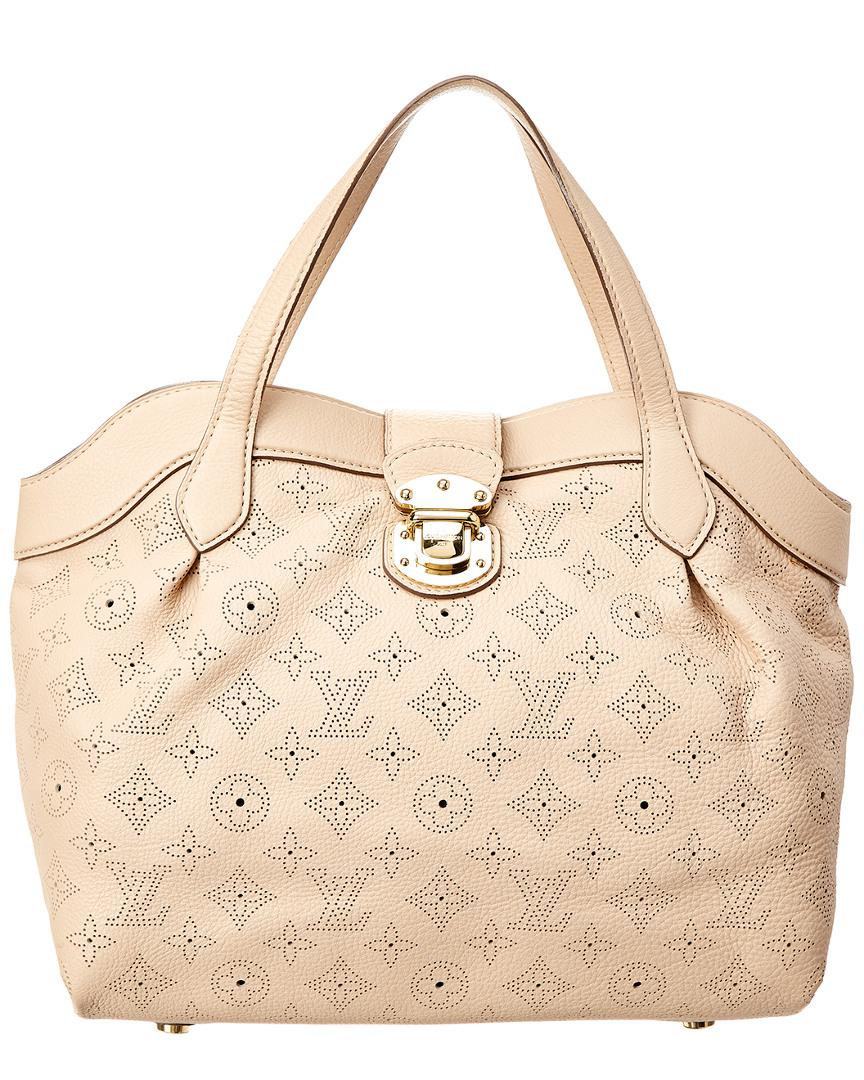 Louis Vuitton Beige Mahina Leather Cirrus Pm in Natural - Lyst 5c92c34139085