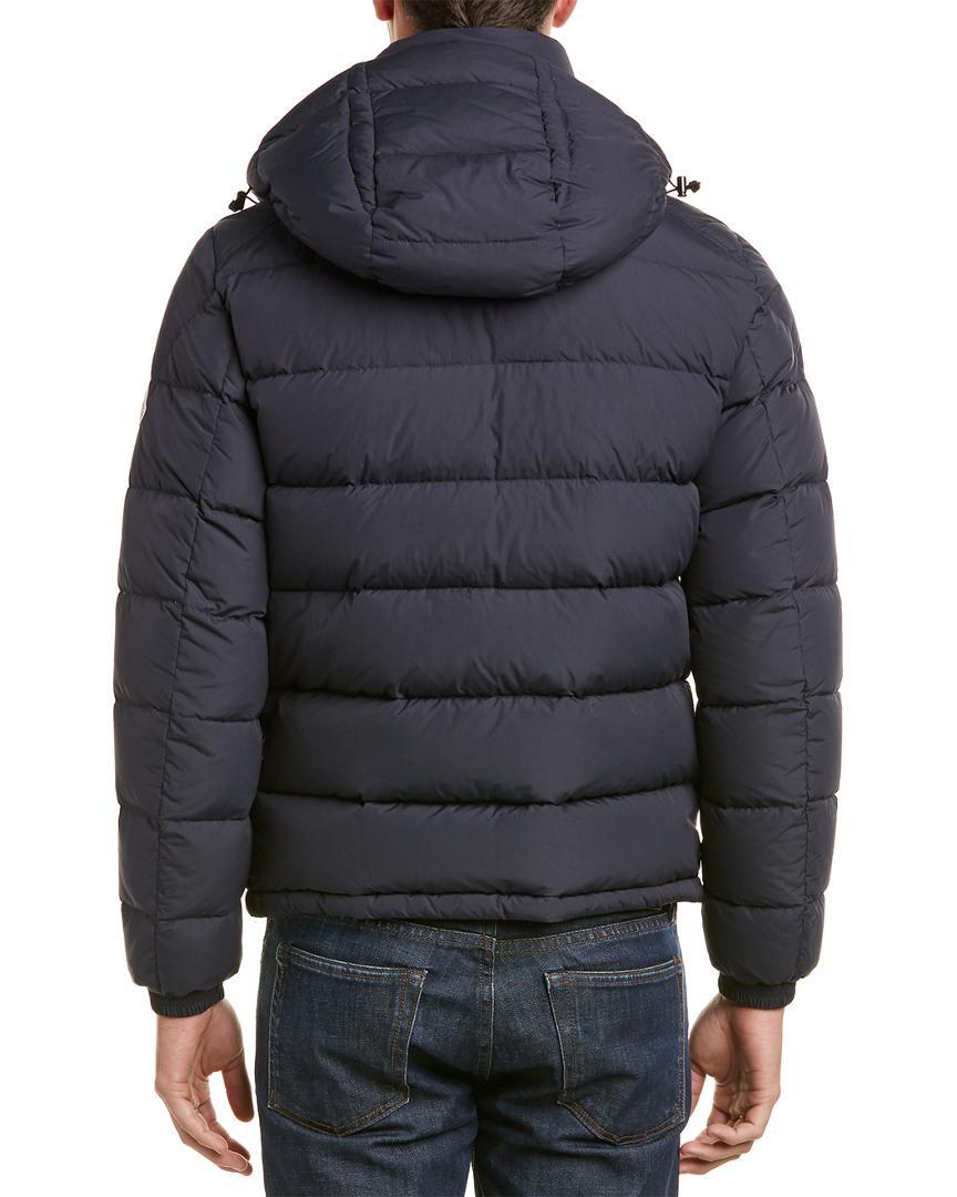 Moncler Synthetic Brique Down Jacket in Black for Men