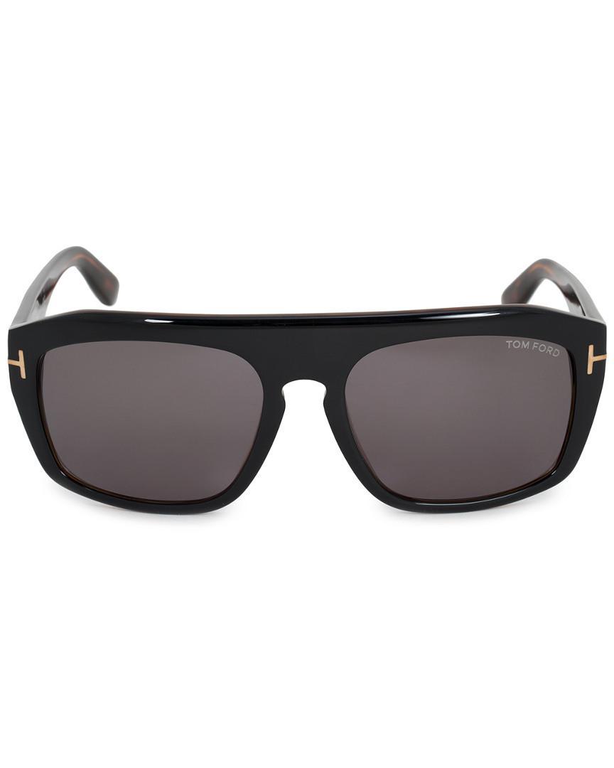 9d1cb1c0159 Lyst - Tom Ford Men s Conrad Square Sunglasses Ft0470 05a 58 58mm Sunglasses  for Men