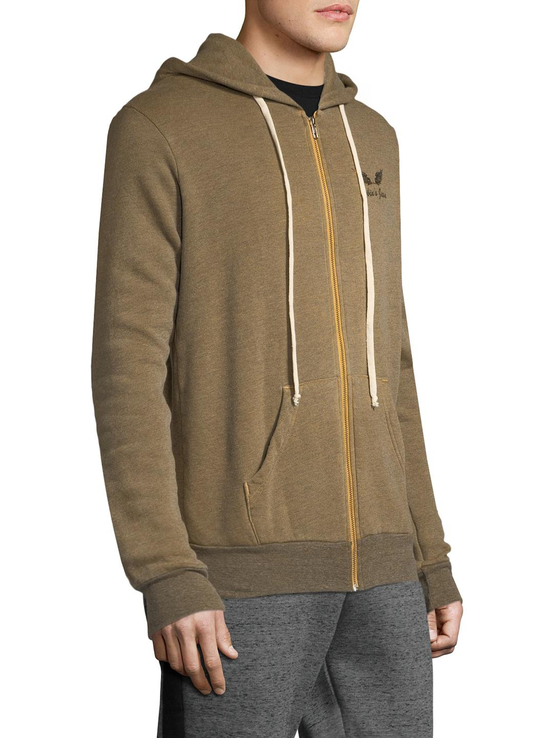 Robin's Jean Synthetic Drawn Wings Hood Jacket in Khaki (Natural) for Men
