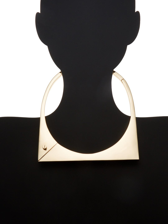 Miansai Modern Flat Necklace in Gold (Metallic)