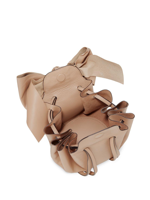 Zac Zac Posen Leather Soiree Crossbody Bag