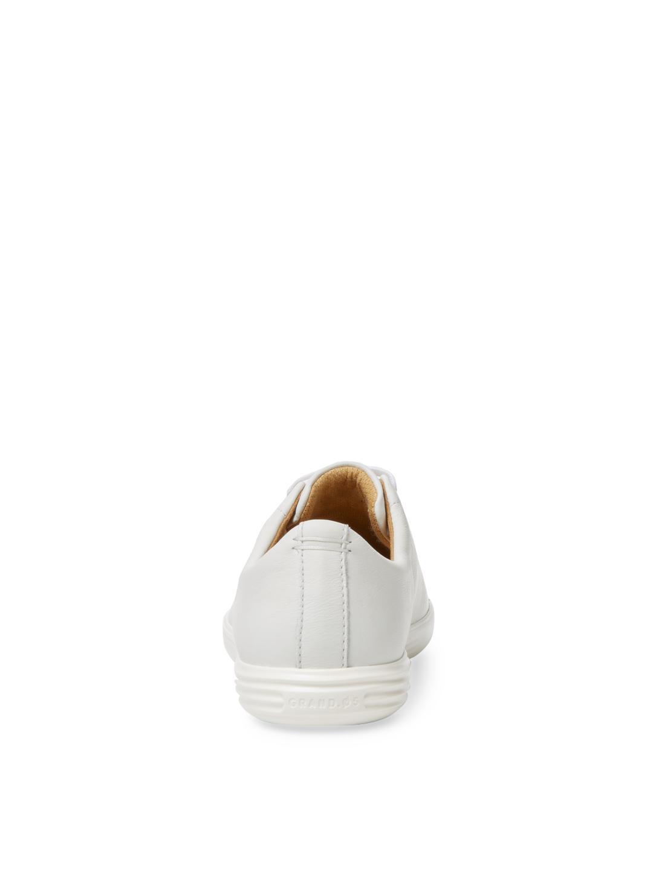 Cole Haan Grand Crosscourt Ii Leather Low Top Sneaker in White