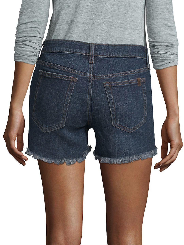 Joe's Jeans Denim Cutoff Shorts in Blue
