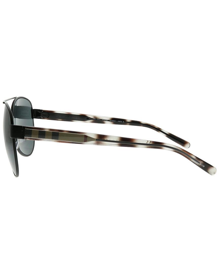 Burberry Be3084 Check 122887 Black