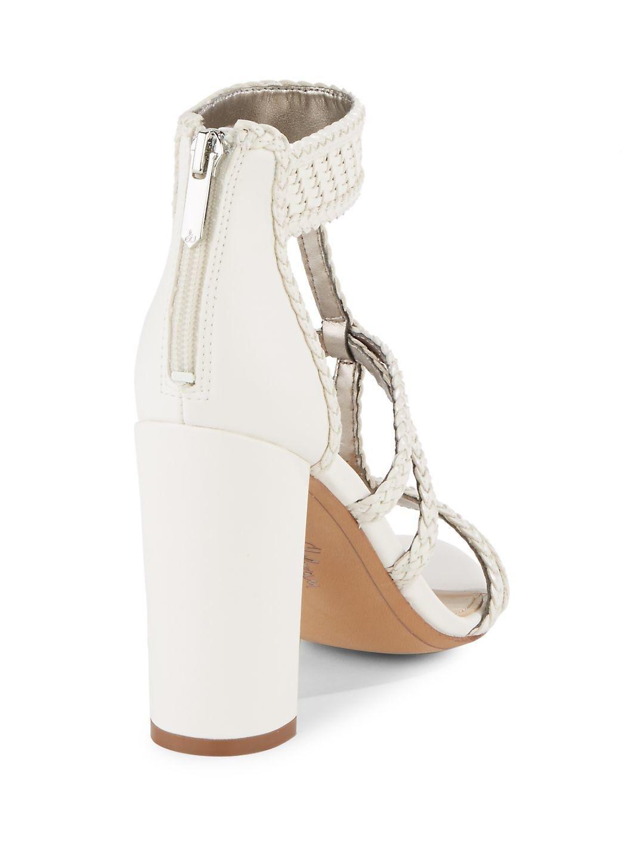 8ca1c9b44c1cc Lyst - Sam Edelman Leather Yordana T-strap Sandals