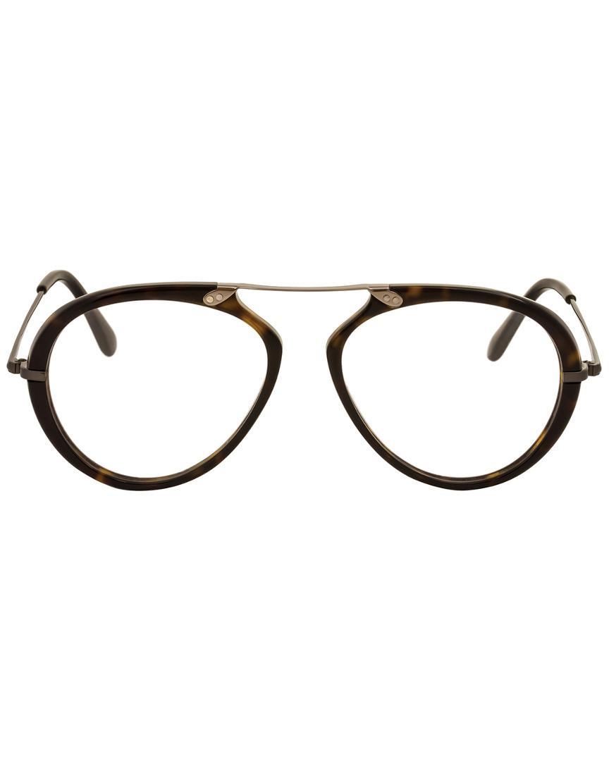 187498e1bf Lyst - Tom Ford Men s Ft5346 53mm Optical Frames in Brown